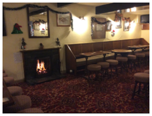 Cosy Traditional Yorkshire Bar Area